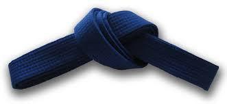 7. Kyu – Blått belte