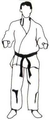 Fudo Dachi (不動立ち)